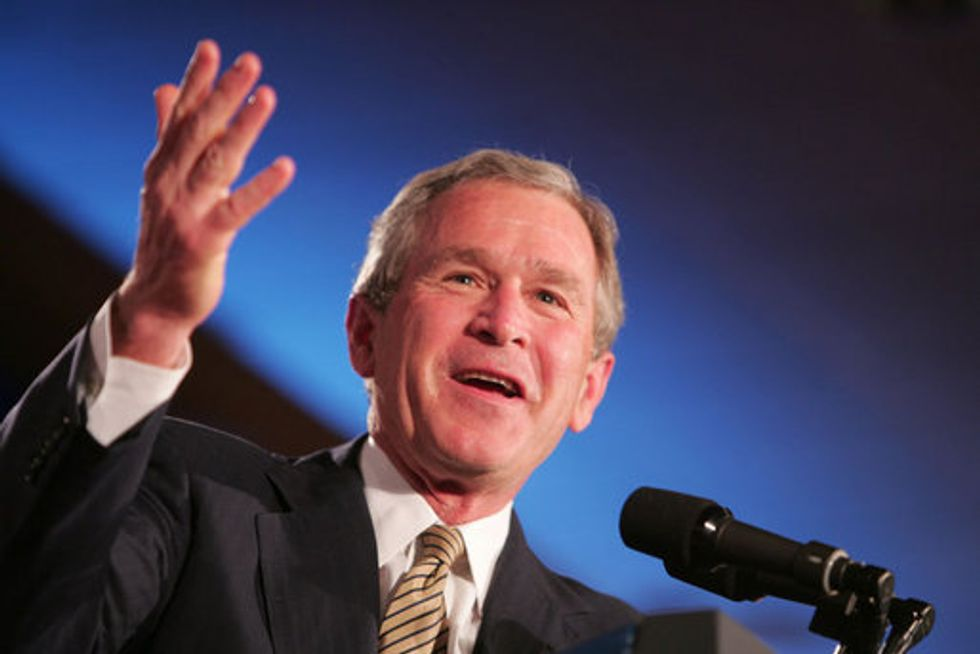 George W. Bush Wanted to Officiate a Gay Wedding