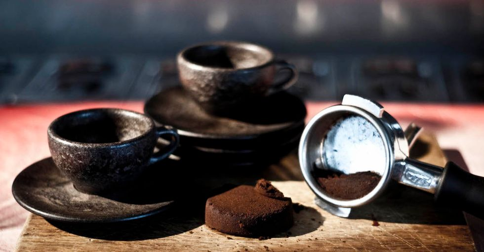 Inspired Designer Creates Literal Coffee Cups From Recycled Grounds