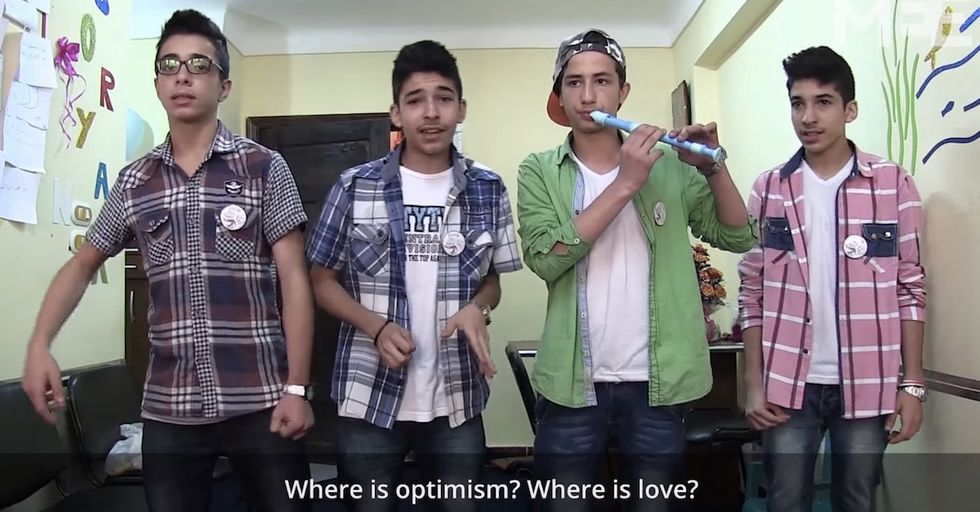 Teenage Syrian Refugee Rappers Forge Music Out of Struggle