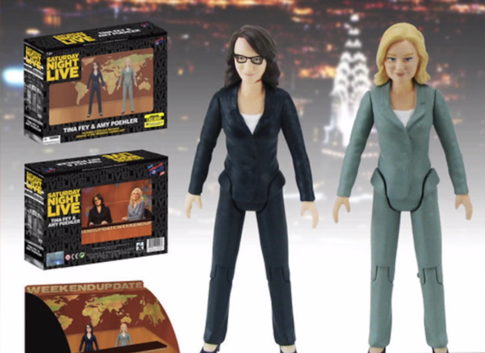 Rejoice: Tina Fey and Amy Poehler Are Now Badass Action Figures