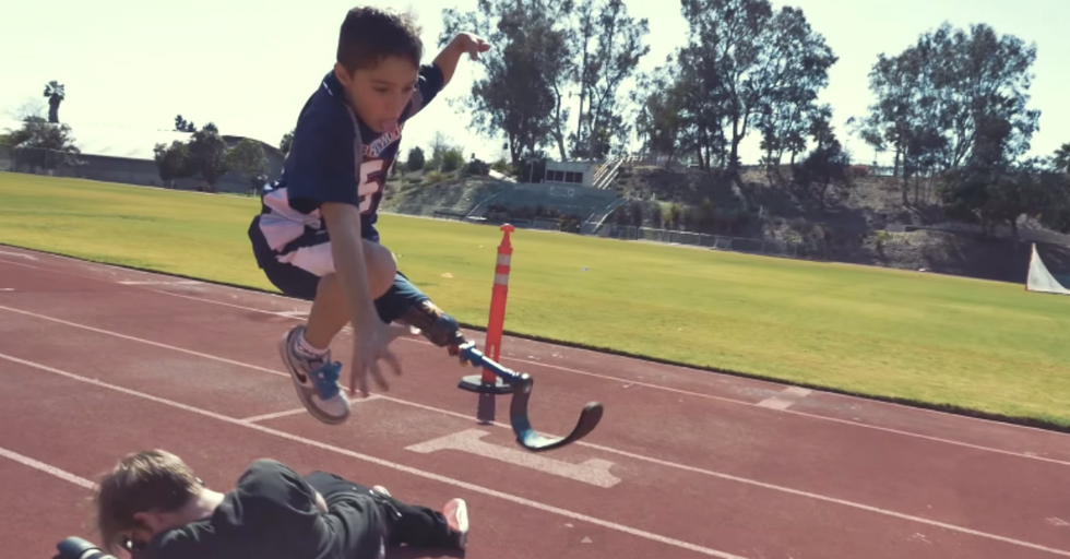Being Different Isn't Stopping This 9-Year-Old Boy From Doing Anything