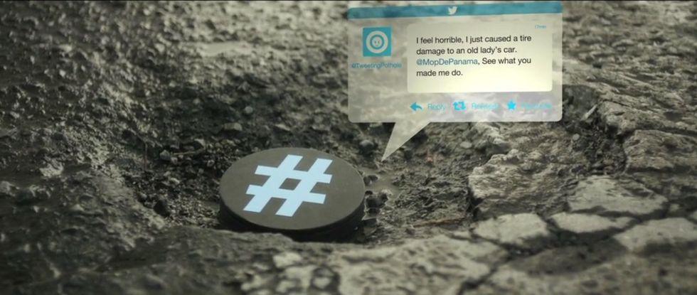 Self-Tweeting Potholes Troll City Officials, Urge Them To Fix Roads