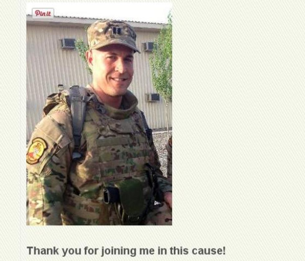 Air Force Captain's Grindr Campaign Raises Big Bucks to Fight AIDS