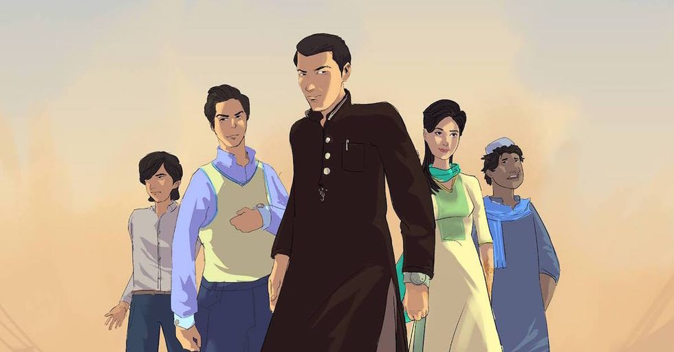 Pakistani Comicbook Fights Violent Extremism, One Panel at a Time