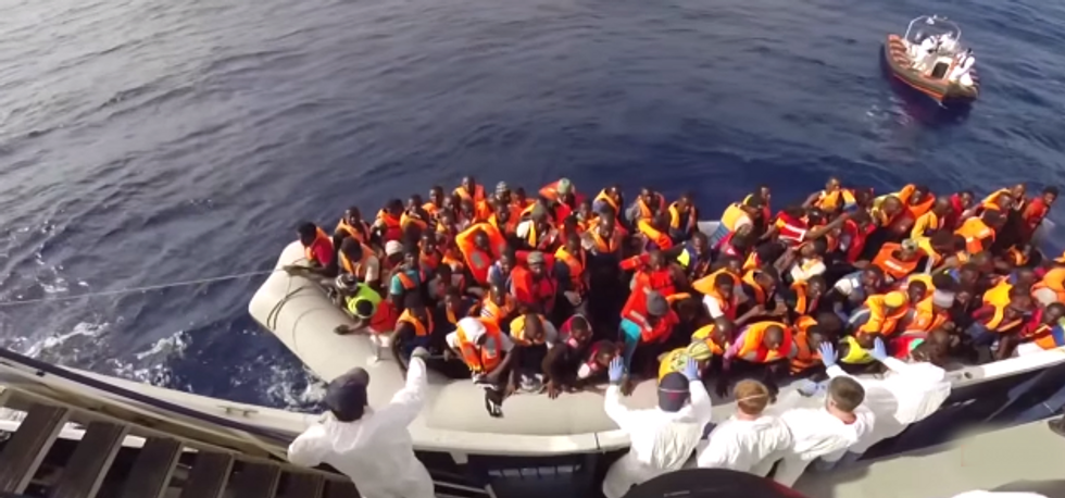 This Family Spends Half Their Year Saving Lives in the Mediterranean