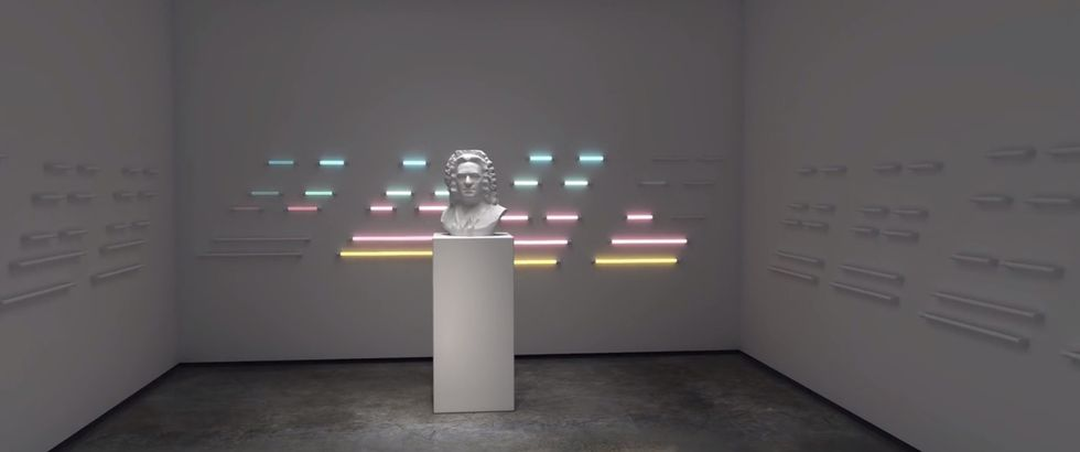 CGI Bach Animation Casts 1722 Masterpiece in a Futuristic Glow
