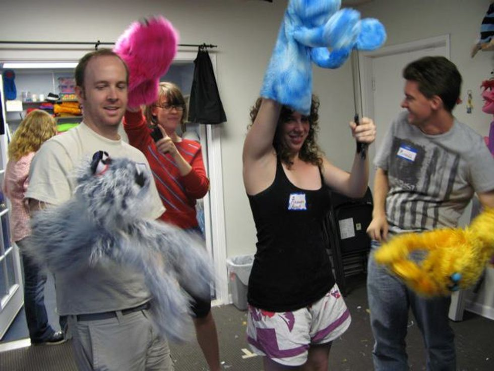 How Playing With Puppets Turns New Learners into Future CEOs