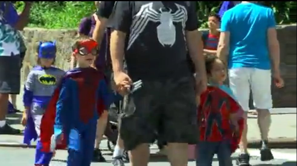 Four-Year-Old Gets The Gender Fluid Superhero Parade She Deserves