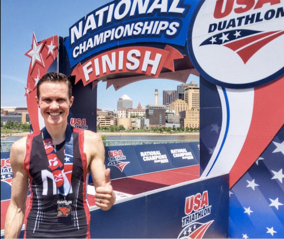 Transgender Athlete Chris Mosier Just Made Major Sports History