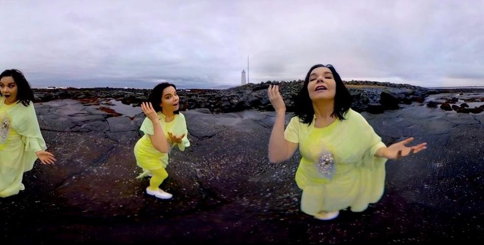 Lose Yourself in the 360º Beauty of Bjork's New Interactive Video