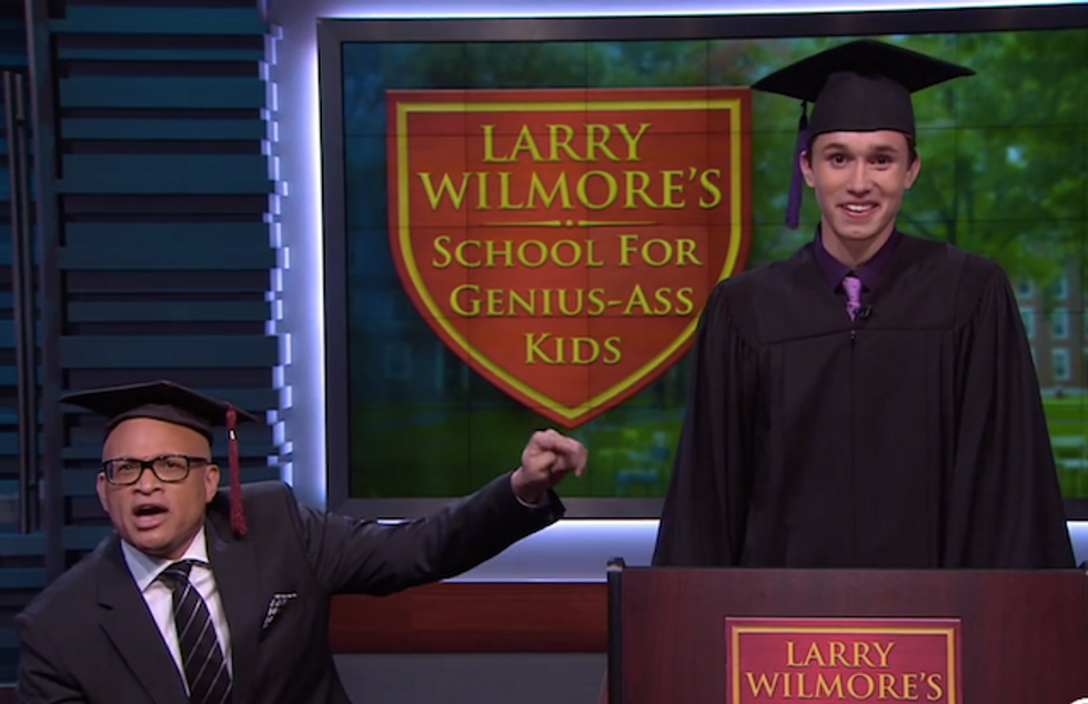 Larry Wilmore Helps Gay Student Give the Speech His School Banned