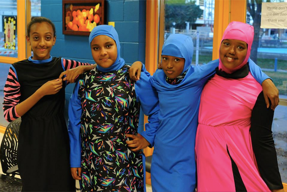 Awesome Group of Muslim Girls Make Faith-Friendly B-Ball Uniforms