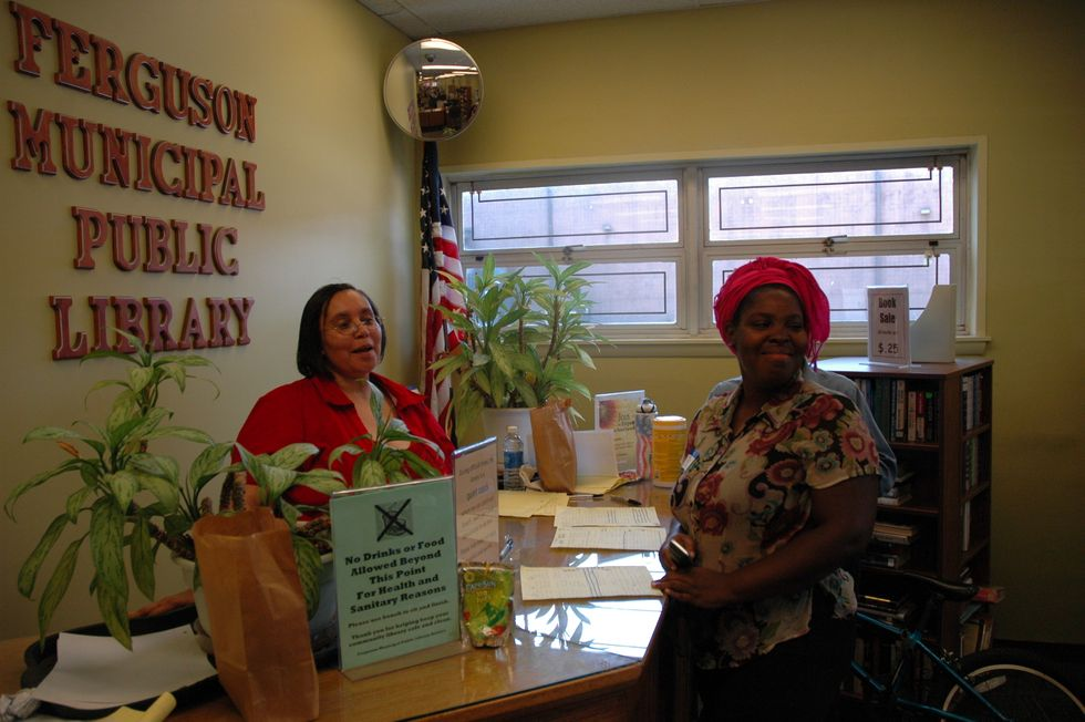 """Ferguson Municipal Public Library Named""""2015Library of the Year"""""""