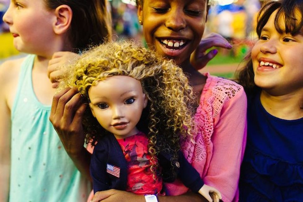 Racially Diverse Dolls Showcase Natural Hair and Big Dreams