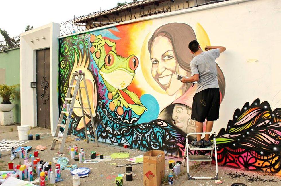 AGraffiti Art Revolution Brings Life to the World's Deadliest City