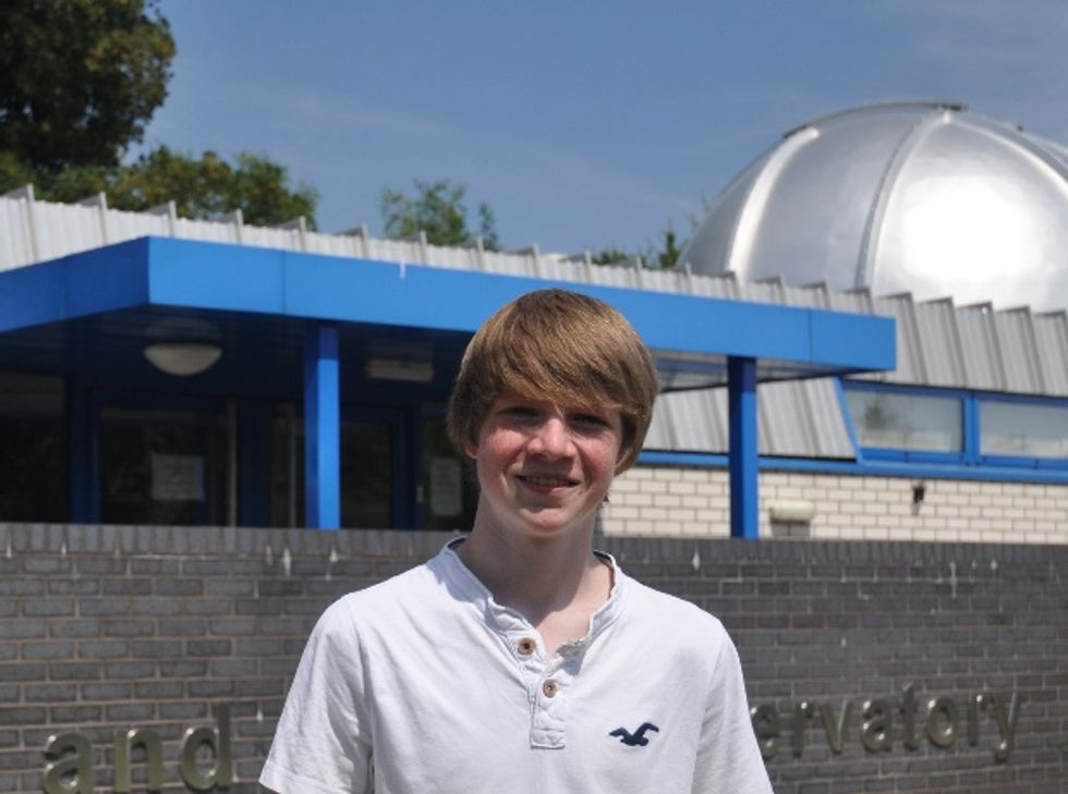 Coolest Intern on Earth Discovers New Planet 1,000 Lightyears Away