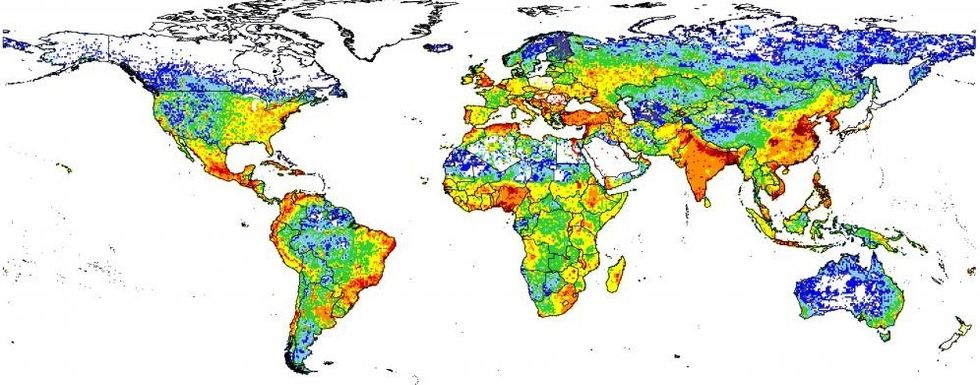 The World's First Global Poop Map Could Help Save Lives