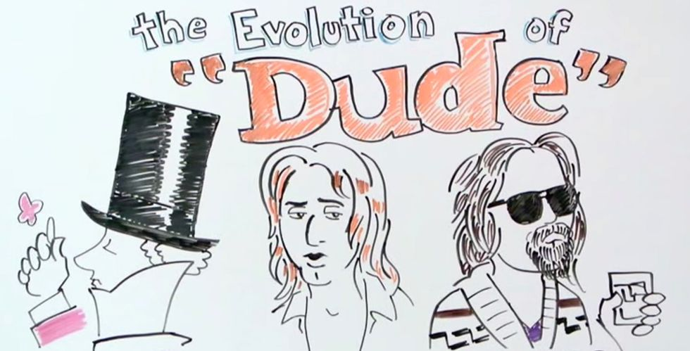 """Dude, This is the Evolution of the Word """"Dude"""""""