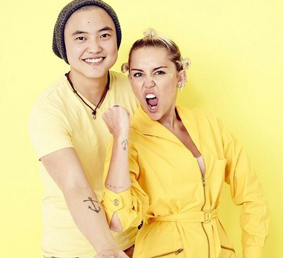 Miley Cyrus' Viral #InstaPride Campaign Helps Transgender People Tell Their Stories