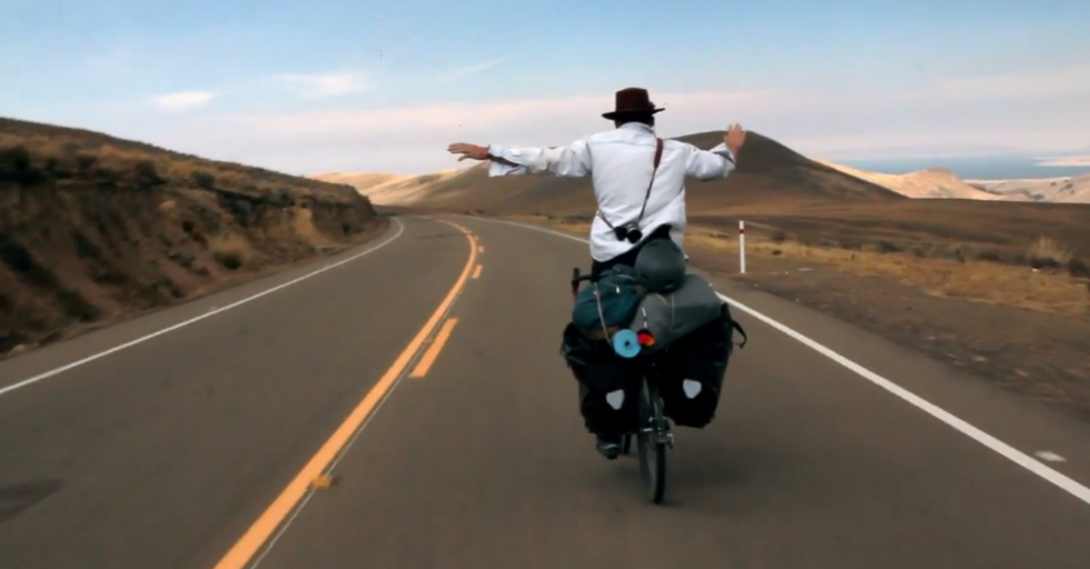 One Man's Incredible Journey From Oregon to Patagonia on a Bicycle
