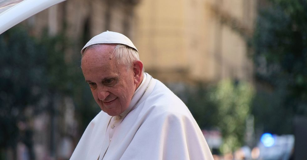 Pope Questions Whether Weapons Makers Can be Called Christian