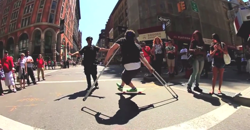 How Bill Shannon Redefines What Life on Crutches Looks Like