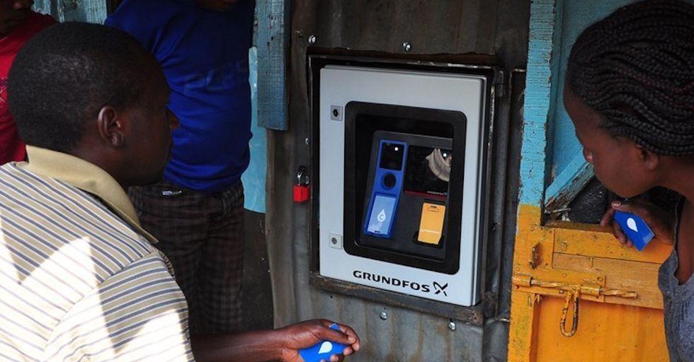 Kenya'sNew ATMs Bring Clean, Affordable Water to Nairobi's Slums