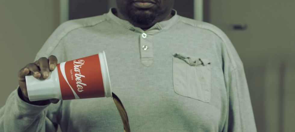 New Ad Viciously Spoofs Iconic Coke Commercial to Stress SodaRisks