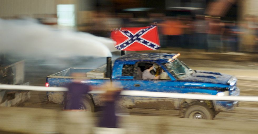 This Confederate Flag-Waving Parade Ends Perfectly