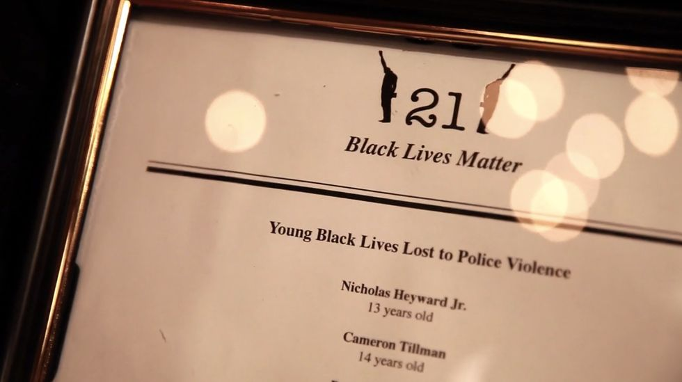 "Activists Remind High-End NYC Diners That ""Black Lives Matter"""
