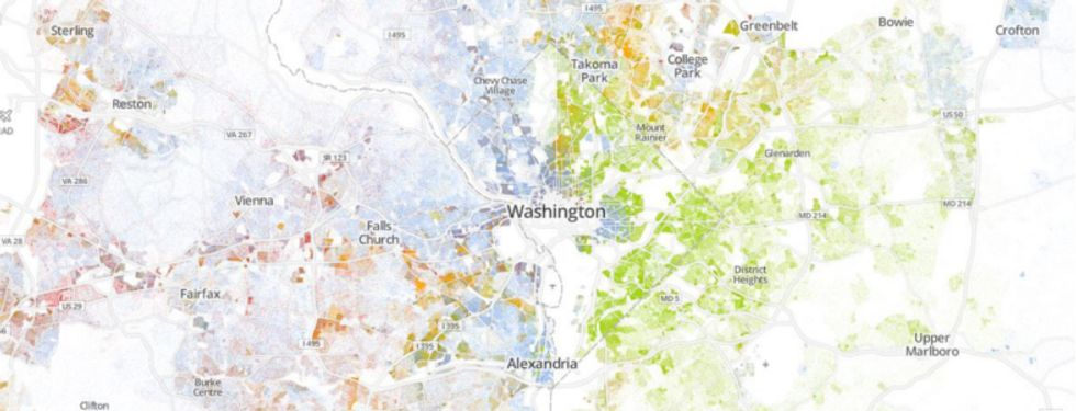 Data Map Shows How Diverse (And Segregated) Our Cities Really Are