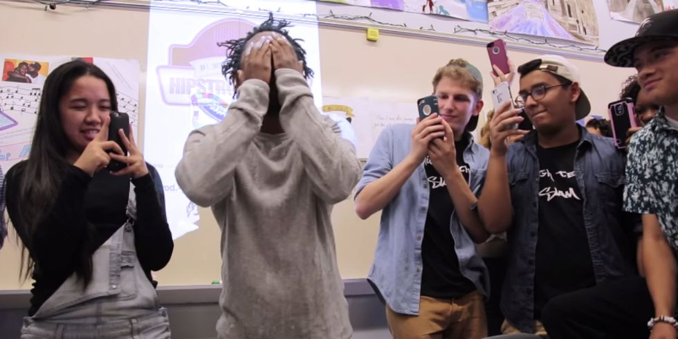 Hip-Hop Star Visits High School to Help Kids Learn to Love Literature