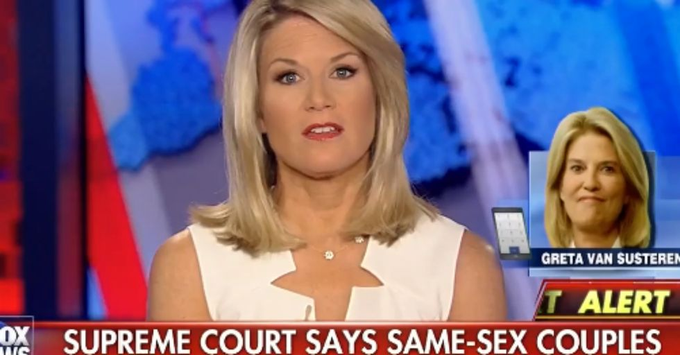 Fox News Anchor Loses Her Mind Over Gay Marriage Ruling