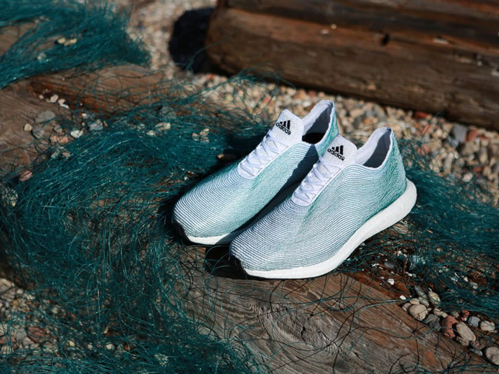 Shoe Made From Recycled Ocean Trash Pops Up in Time for Summer