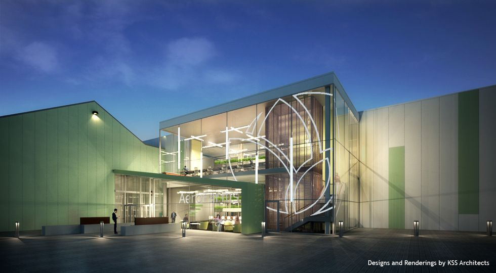 World's Largest Indoor Vertical Garden Comes to the Garden State