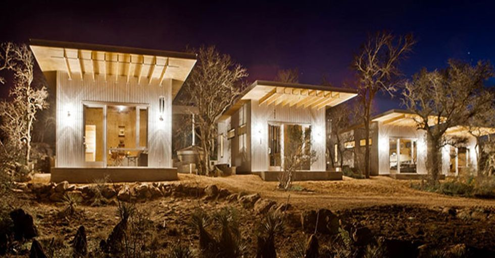 Four Texas Couples Come Together to Build an Eco-Friendly Commune