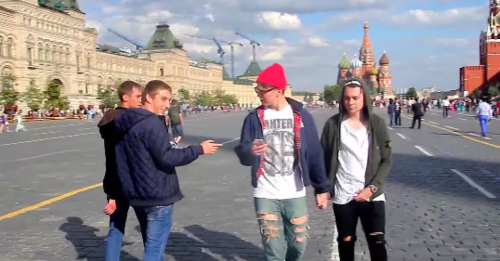 A Brief Glimpse into the Frightening Attitude Towards Gays in Russia.