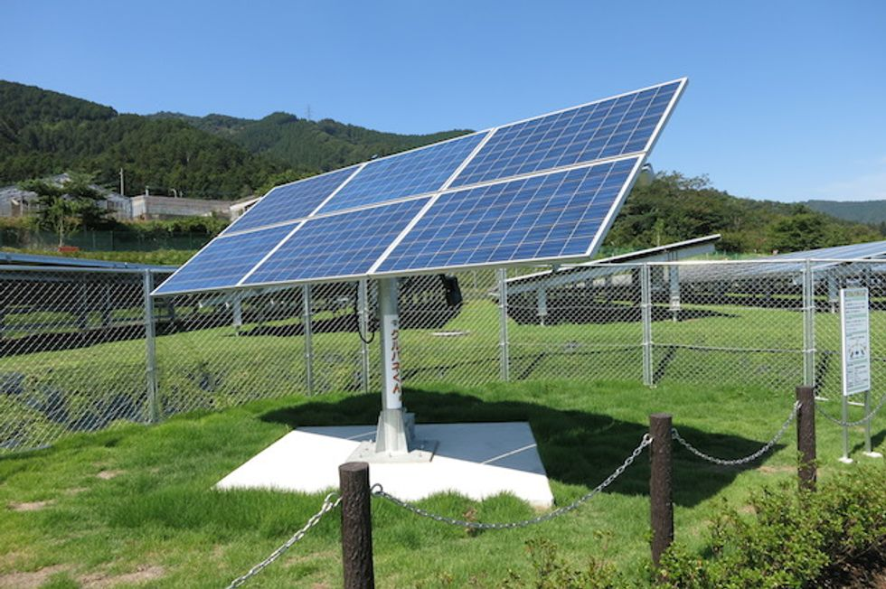 Japanese Golf Courses Go From Financial Flops to Solar Farms