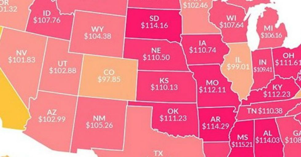 Find Out How Much $100 is Actually Worth In Your State