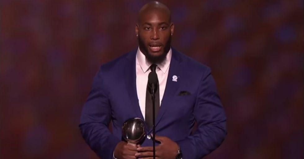 Watch Devon Still's Powerful ESPY Speech About His Daughter's Cancer Battle
