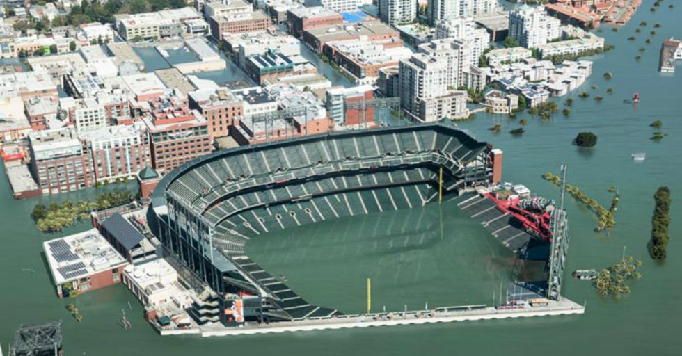 10 Terrifying Images Of What Coastal Cities Will Soon Look Like Underwater