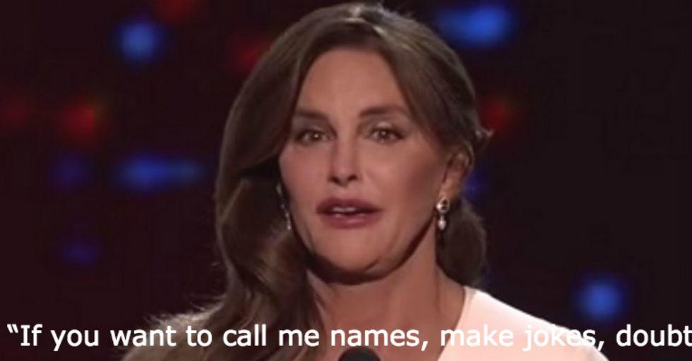 Caitlyn Jenner'sHeartfelt Acceptance Speech at the ESPY Awards