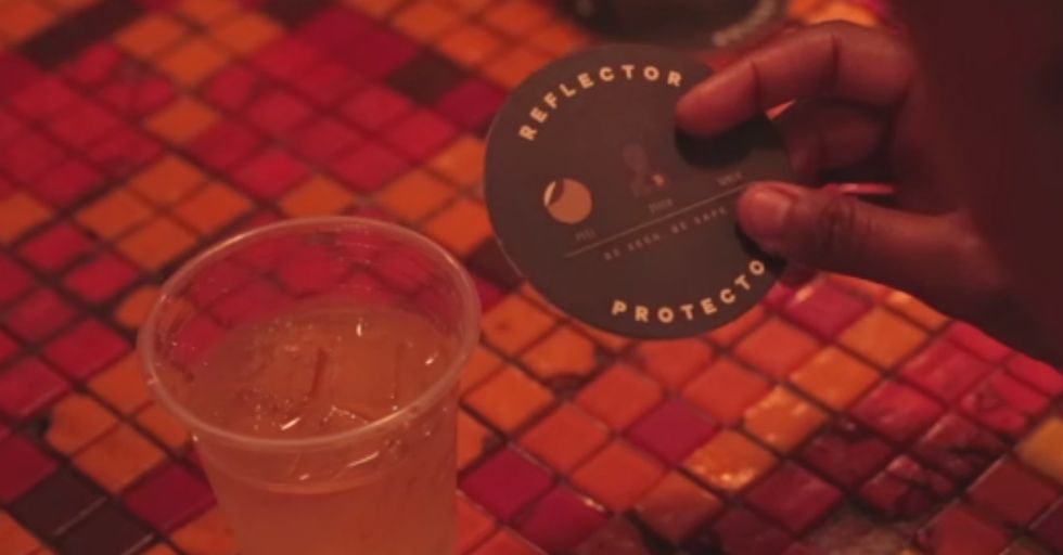 What Makes These Drink Coasters So Special? They Save Lives