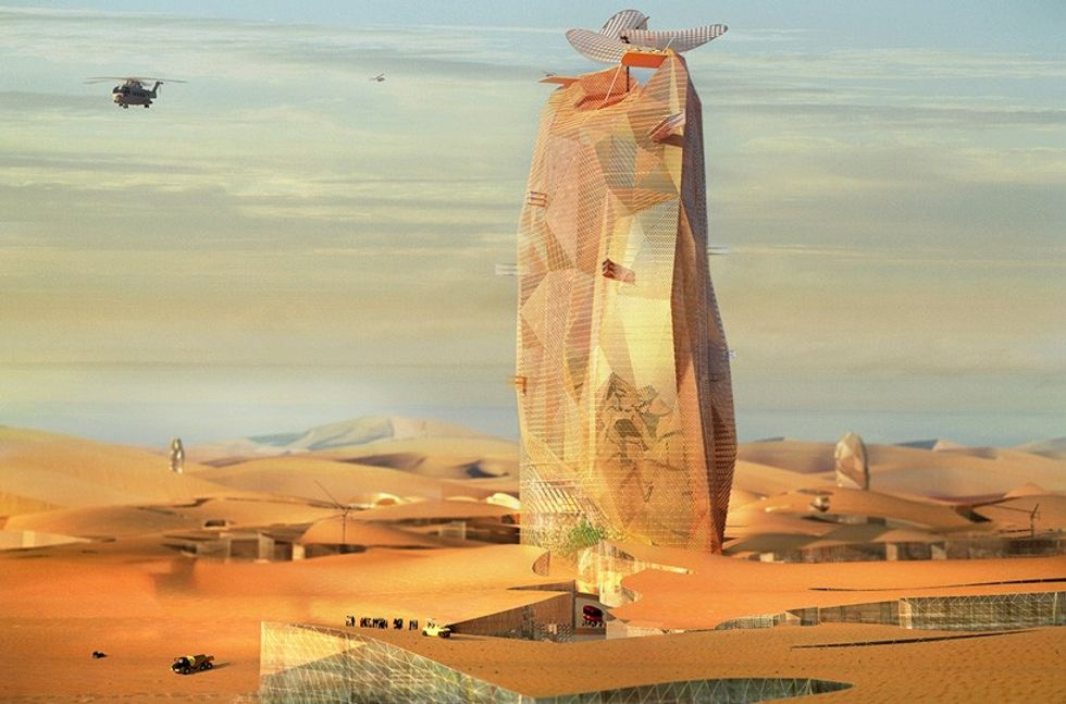 Could a Saharan Super-Skyscraper Be the Future of Urban Living?