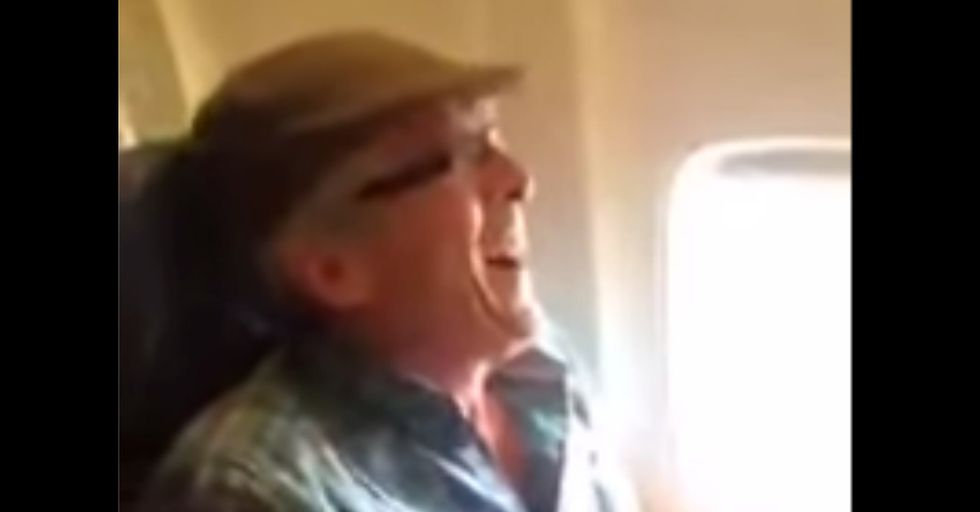 A 57-Year-Old Man Has Very Emotional First Flight
