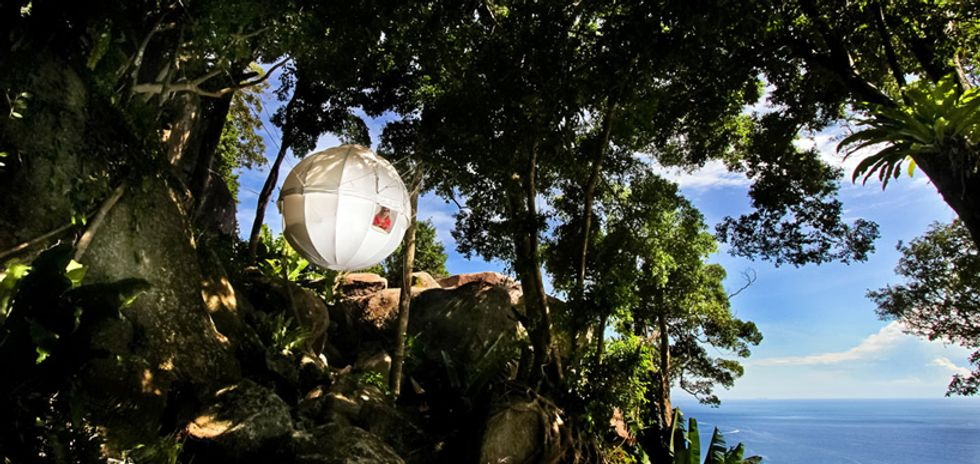 New Cocoon Tree House Brings Shelter and Fun Anywhere, Anytime