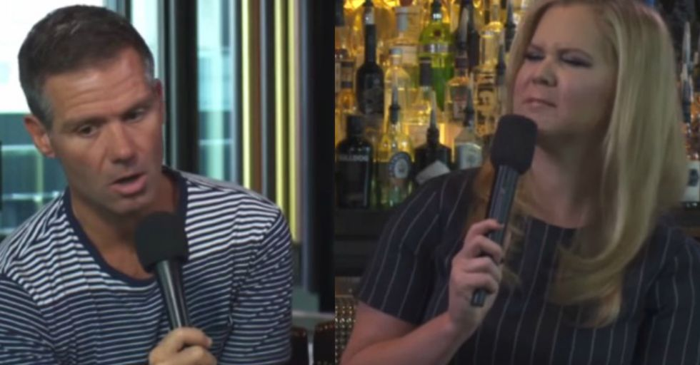 """Amy Schumer Strikes Back at Radio Host's """"Skanky"""" Comment"""