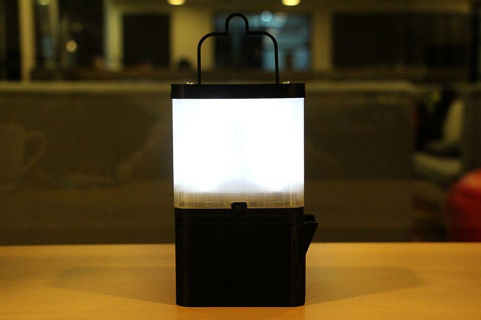 Ingenious Lamp Illuminates Rural Communities Using Nothing But Saltwater