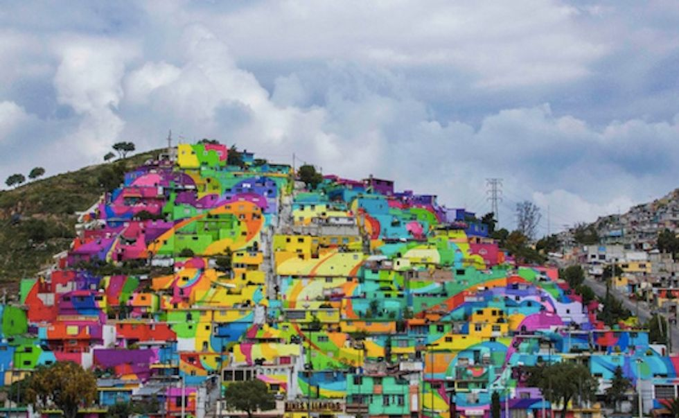 Street Artists Transform Community Devastated by Violence Into a Colorful, City-Wide Mural