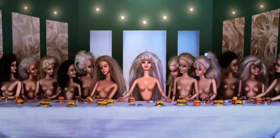To Fight Sexism, This Woman Recreated Art Masterpieces—with Barbies